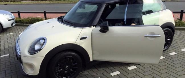 mijn nieuwe auto